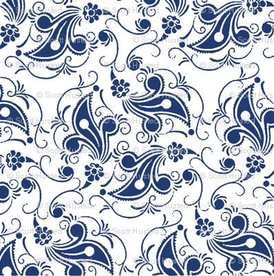 China Pattern Fabric