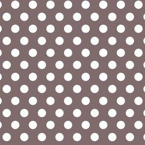 Polka Dots Dark Grey