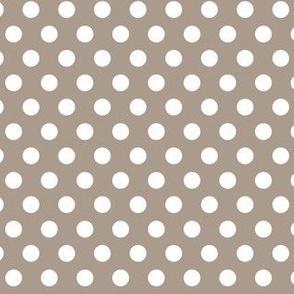 Polka Dots Grey