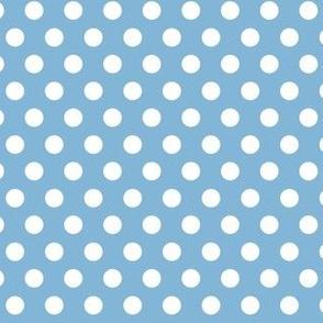 Polka Dots Light Blue