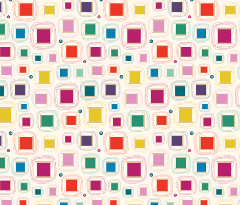 Cotton Reels fabric by gobennygo on Spoonflower - custom fabric