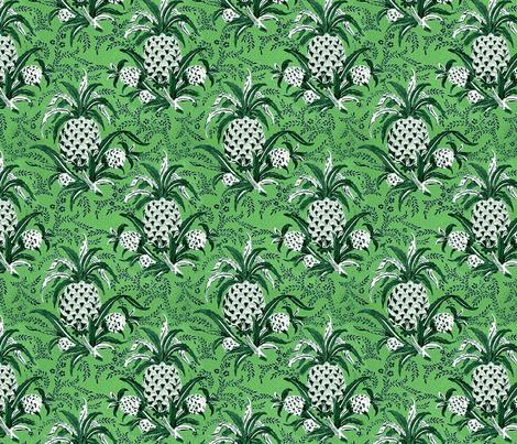 Pineapple Plantation fabric by flyingfish on Spoonflower - custom fabric
