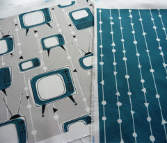 Teal Blue Coordinating Design