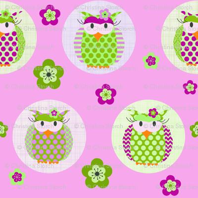 Tawny Owl pink