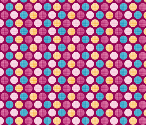 Tawny Owl Dots fabric by ciconia on Spoonflower - custom fabric