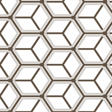 Honeycomb Motif 22 fabric by animotaxis on Spoonflower - custom fabric