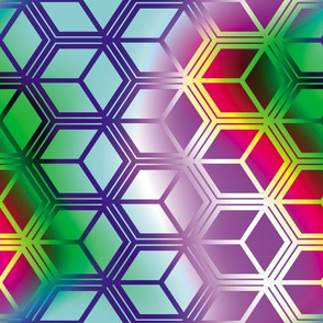 Honeycomb Rainbow 3