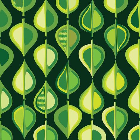 Evergreen (dark) fabric by bippidiiboppidii on Spoonflower - custom fabric