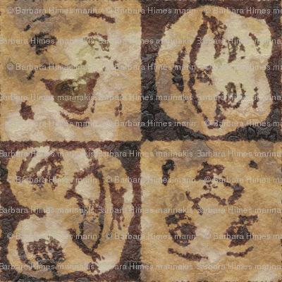 Happy Faces: Caveman Style_small