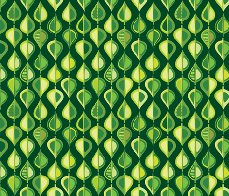 Evergreen (green) fabric by bippidiiboppidii on Spoonflower - custom fabric