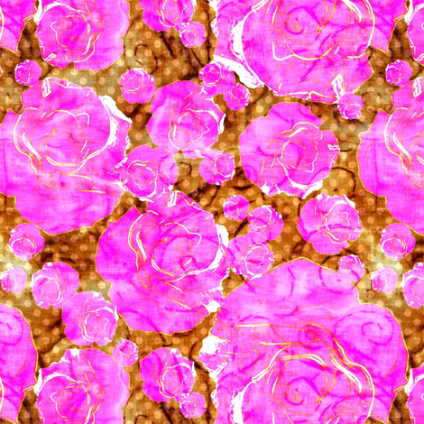 Bali rose fabric by keweenawchris on Spoonflower - custom fabric