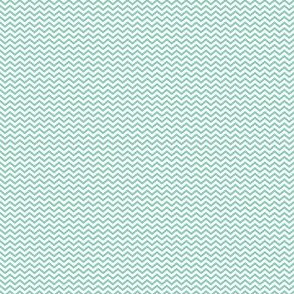 Light Teal Chevron