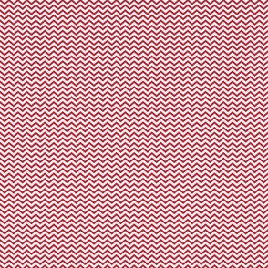 Dark Red Chevron