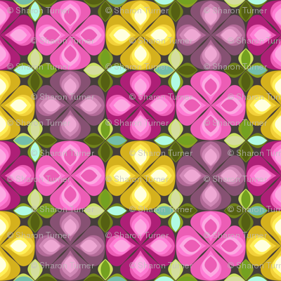gouttelette flowers chocca