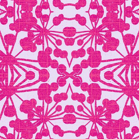 FloraXBpink fabric by joybea on Spoonflower - custom fabric
