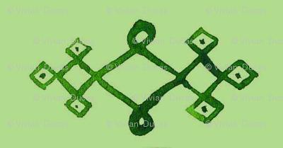 cestlaviv_mystical knot greengreen