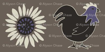 chickenandsunflower