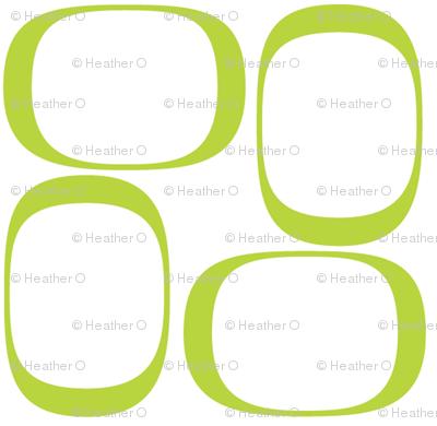 Apple Green Ovals