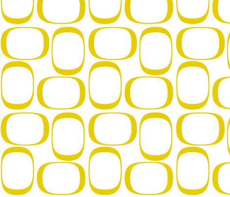 Golden Rod Ovals fabric by bbsforbabies on Spoonflower - custom fabric