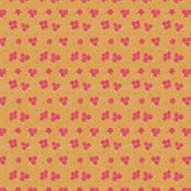 Flower Paisley Dot yellow