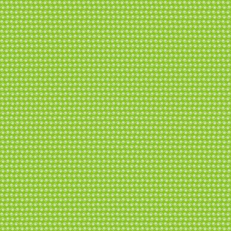 Snail on Fresh Leafy Green. fabric by rhondadesigns on Spoonflower - custom fabric