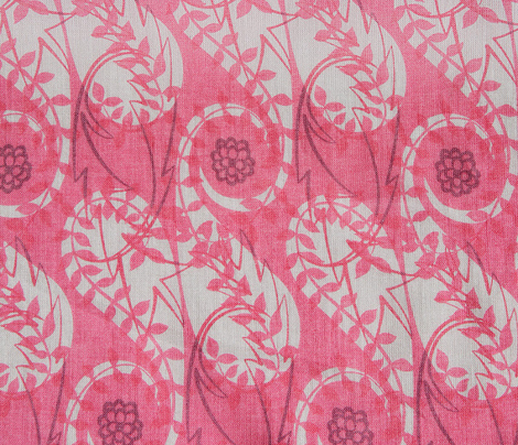 Paisley Block Print pinks