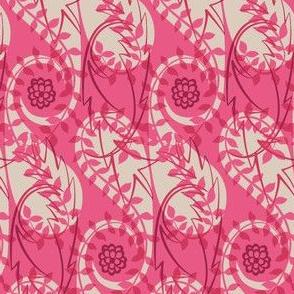 Paisley Block Print pinks