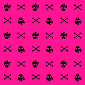 Pink Girly Skulls2