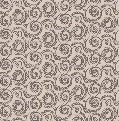 Paisley Bubbles neutrals