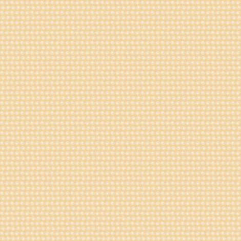 Snail on Pale Peach fabric by rhondadesigns on Spoonflower - custom fabric