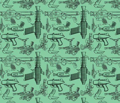 Rrspoonflower39-_ray_guns_-_green_shop_preview