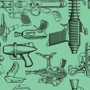 Ray Gun Revival (Green)