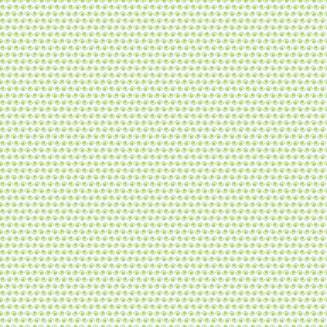 Lime Green Snail on White. fabric by rhondadesigns on Spoonflower - custom fabric