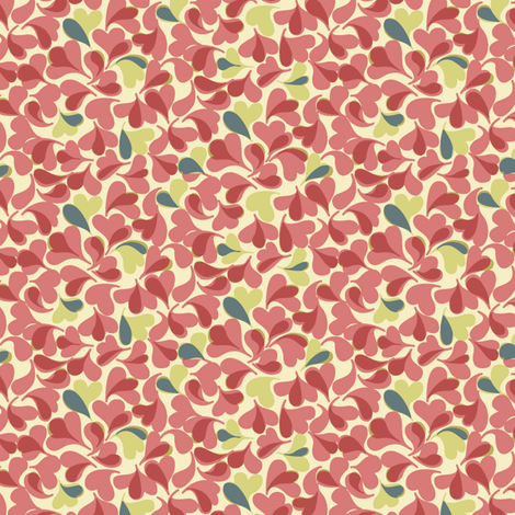 Abstract_Leafy fabric by modernprintcraft on Spoonflower - custom fabric