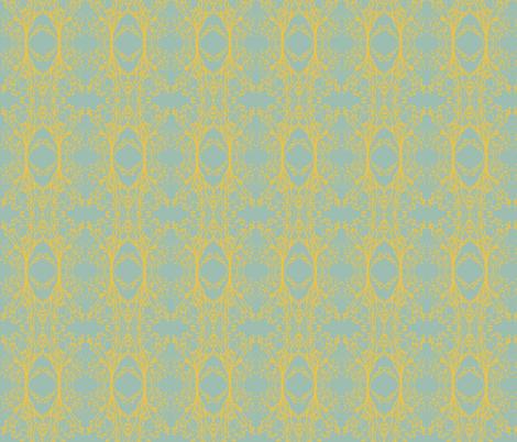 Modern Majestic - Pure Skies - Endless Blossom fabric by uzumakijo on Spoonflower - custom fabric