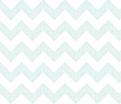 Chevron Sketch Minty fabric by honey&fitz on Spoonflower - custom fabric