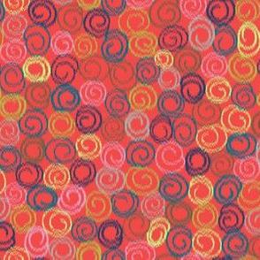 Swirly Ikat