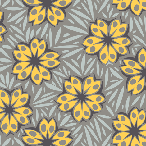 Woodcut_2 fabric by modernprintcraft on Spoonflower - custom fabric