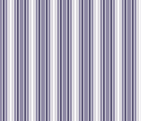 Purple Bird Stripe fabric by shelleymade on Spoonflower - custom fabric