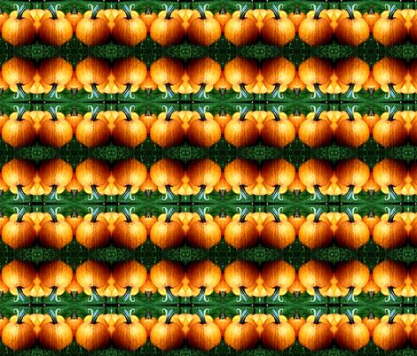 Pumpkins fabric by dabbledoit on Spoonflower - custom fabric