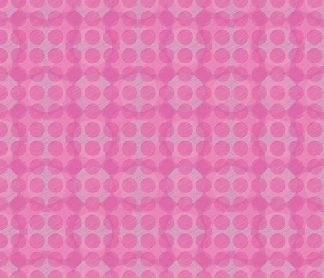 Pink Circles fabric by bojudesigns on Spoonflower - custom fabric