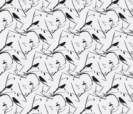 Bird Watching fabric by flyingfish on Spoonflower - custom fabric