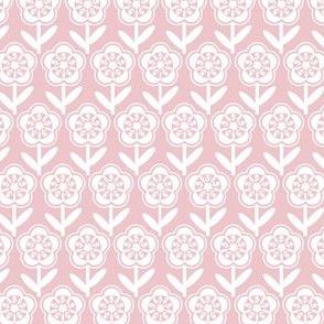 Geometric Flower - Blush