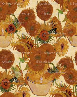 Vincent van Gogh - Vase with Fifteen Sunflowers 1888