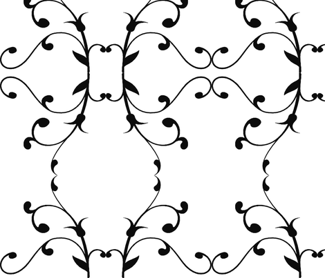 Tendrils fabric by flyingfish on Spoonflower - custom fabric