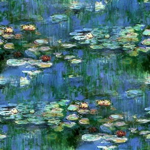 Claude Monet ~Water Lilies ~1916