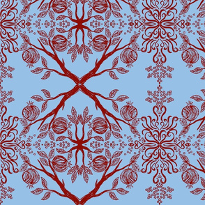 Pomegranate, 1st draft-ed