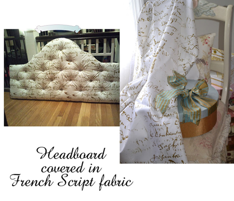 Anita's Inspiration Headboard