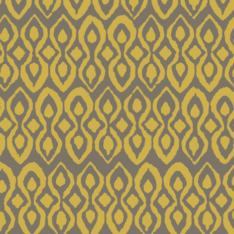 mushroom gold pestle fabric by scrummy on Spoonflower - custom fabric