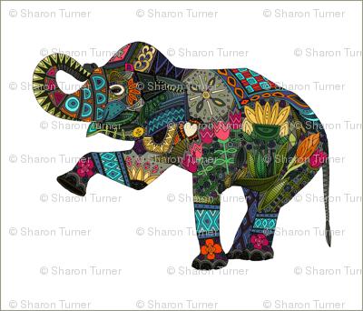 asian elephant white 4 per FQ